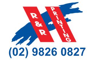 R&R Printing Logo